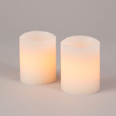 LED Candle Glow Wick - Set of 2
