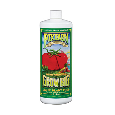 Fox Farm Grow Big Extra Strength Liquid Plant Food
