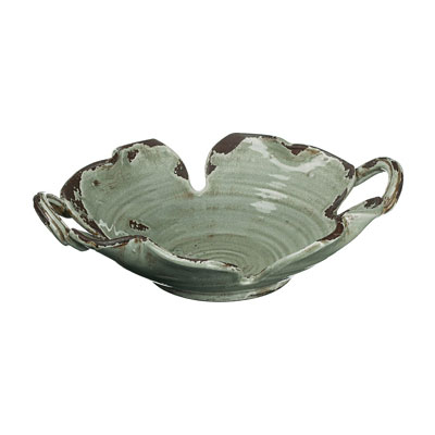Ceramic Bowl with Handle - Grey