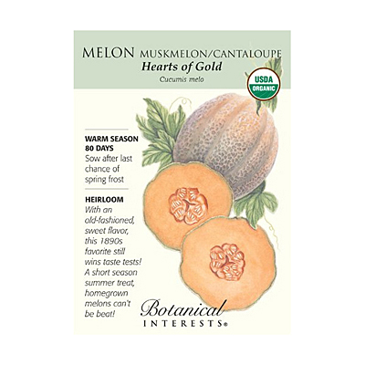 Seeds - BI Melon Hearts of Gold Org
