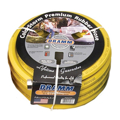 Hose - Dramm Premium Rubber Yellow