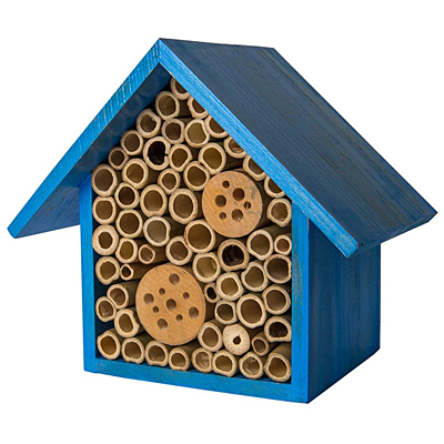 Beneficial Bug Hotel - Heather Sky Blue