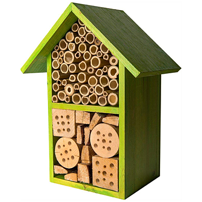 Beneficial Bug Hotel - Tulip Lime Green