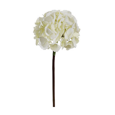 French Hydrangea Spray - Ivory