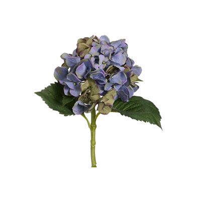 Single Hydrangea Spray - Blue Lavender