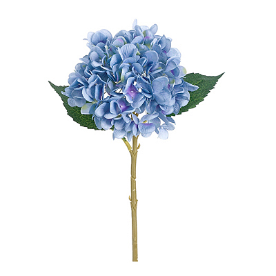 Hydrangea Spray, Single - Blue