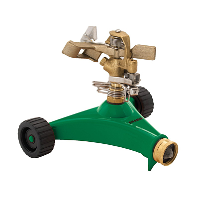 Dramm ColorStorm Impulse Sprinkler - Green
