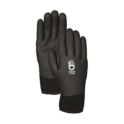 Glove - Fully Coated PVC Insulated Black