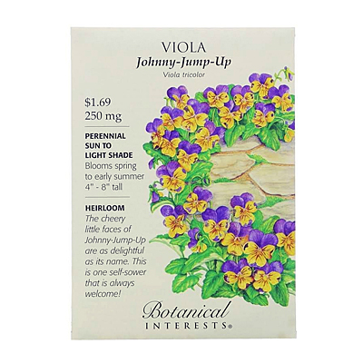 Seeds - BI Viola Johnny-Jump-Up