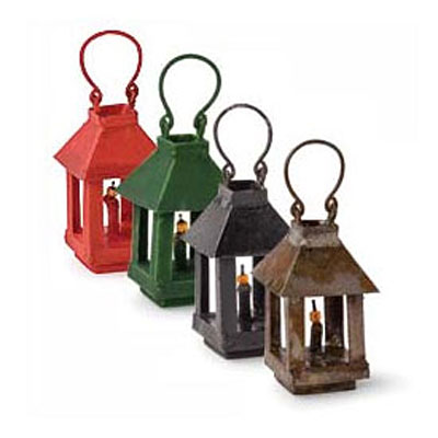 Mini Lantern - Assorted Colors