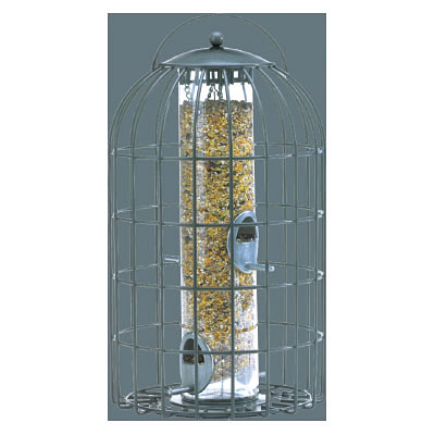 Nuttery The Extra Large Seed Feeder - Gray