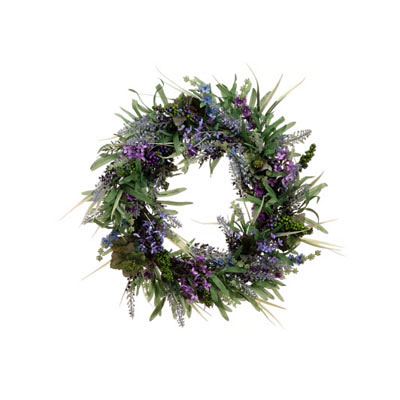 Wreath - Lavender Berry