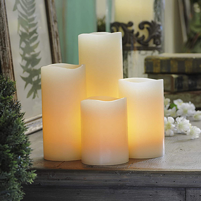 LED Candle - Black Wick