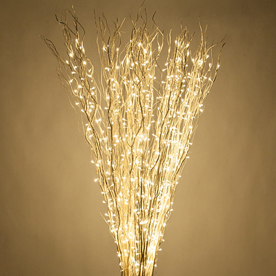 Willow Branch, White Lighted Full Warm White