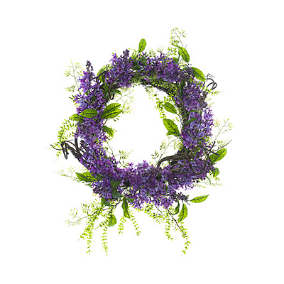 Lilac Wreath - Purple