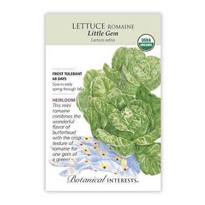Seeds - BI Lettuce Romaine Little Gem Org