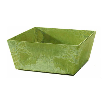 Novelty ELLA Artsone Low Square Planter - Sage