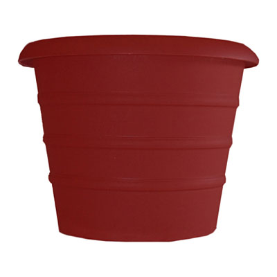 Akro-Mils Marina Planter - Warm Red