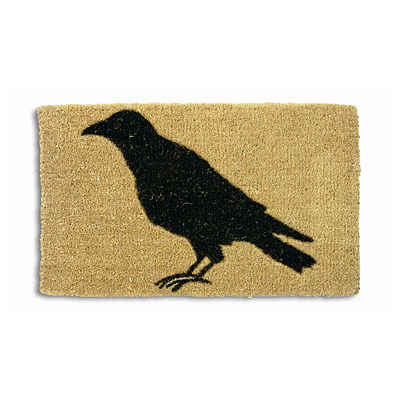 Coir Mat - Black Crow