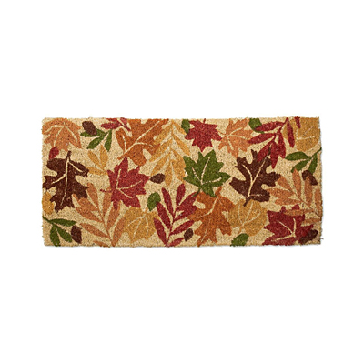 Coir Mat - Harvest Leaves
