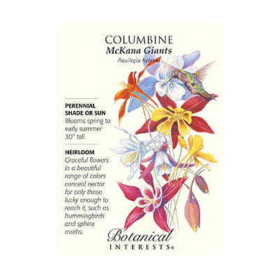 Seeds - BI Columbine McKana Giants Blend