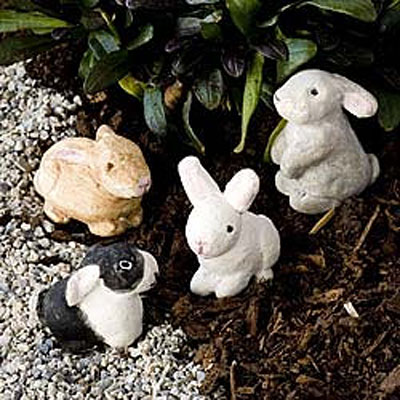 Mini Bunnies (Set of 4)