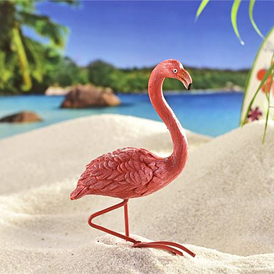 Mini World Beach Party Flamingo
