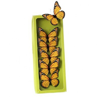 Monarch Butterfly - Yellow