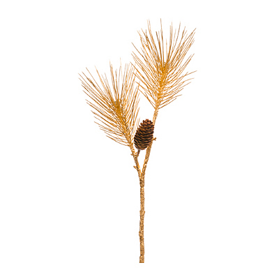 Spray - Long Needle with Pine Cone