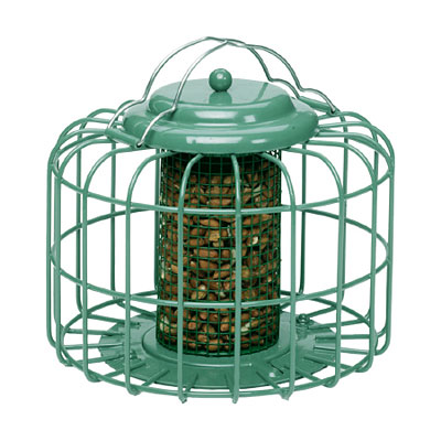 Nuttery Oval Mini Nut Bird Feeder - Ocean Green