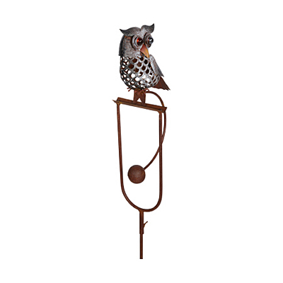 Stake - Rocking Owl Perched