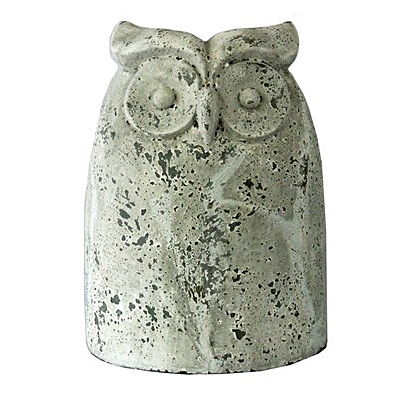 MC Owl Antique Short - White