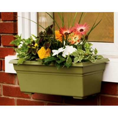 Novelty Planter Box - Sage