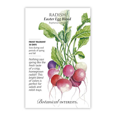 Seeds - BI Radish Easter Egg Blend