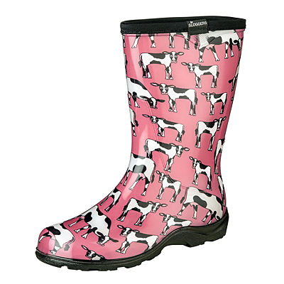 Sloggers Rainboot - Cow Pink