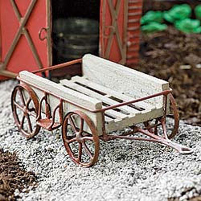 Mini Rustic Wagon