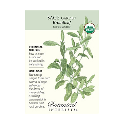 Seeds - BI Sage Broadleaf Org