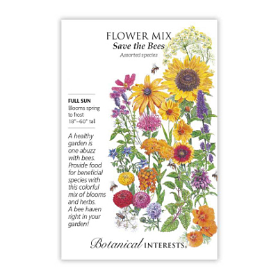 Seeds - BI Flower Mix Save the Bees