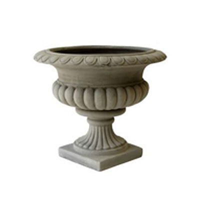 Urn - Fiberclay Savill Weathered Taupe