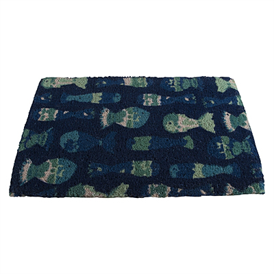Coir Mat - School of Fish