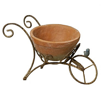 Planter - Marshall Scroll Cart