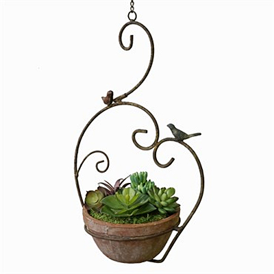 Planter - Marshall Scroll Hanging