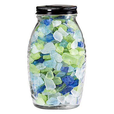 Sea Glass Mix Jar