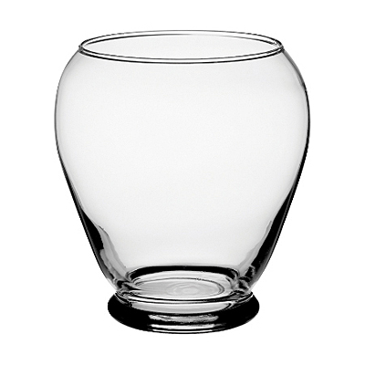 Serenity Vase - Clear Glass