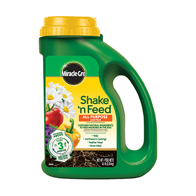 Miracle-Gro Shake 'n Feed All Purpose Plant Food