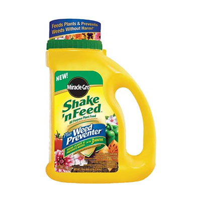 Miracle-Gro Shake 'N Feed with Weed Preventer