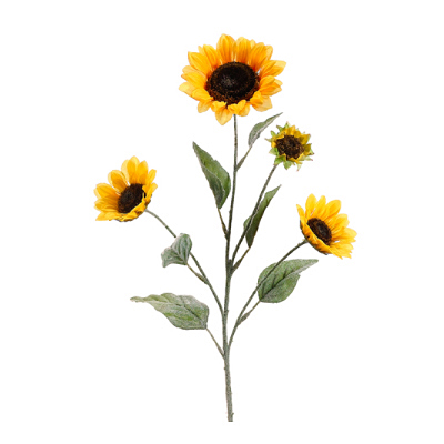 Small Sunflower Spray - Yellow