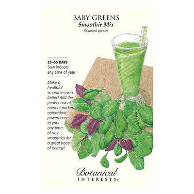 Seeds - BI Baby Greens Smoothie Mix