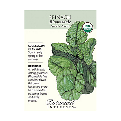 Seeds - BI Spinach Bloomsdale Org