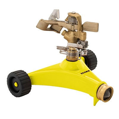 Dramm ColorStorm Impulse Sprinkler - Yellow